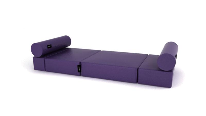 Puf cama convertible individual - Puff cama convertible ...