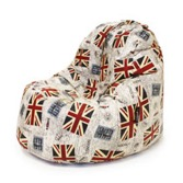 Puf Lounge British Flag