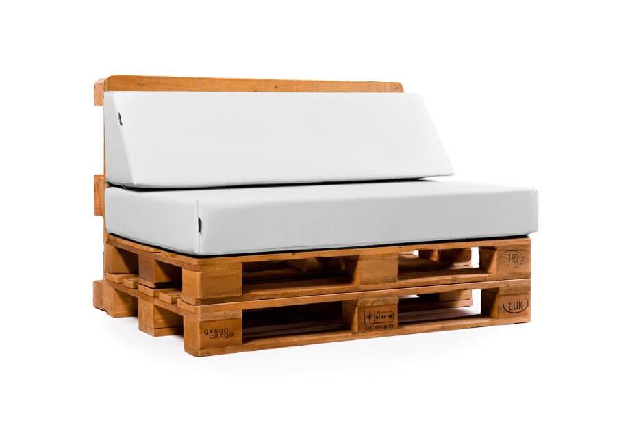 Coj n respaldo para palet inclinado - Cojines para sillones de terraza ...