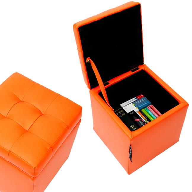 Puff arc n 40x40x40 para venta online de for Cajas para zapatos leroy merlin