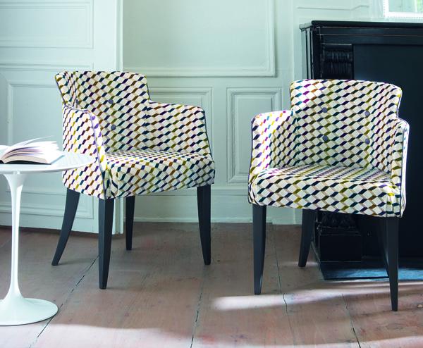los tejidos toman el protagonismo con casamance mipuf. Black Bedroom Furniture Sets. Home Design Ideas