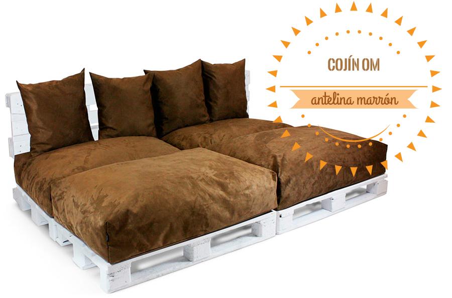 Los cojines y colchones para palets reinventan la for Cojines sofa palets