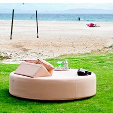 cama balinesa circular