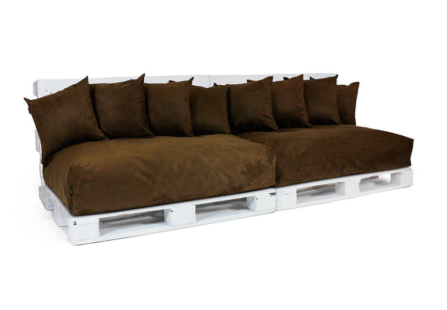Colch n om para palet pack 2 uds - Cojines para sillones de terraza ...