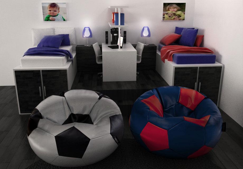 Compra Puff Futbol online, el regalo para los futboleros.